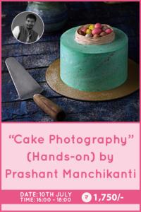 Cake Photography by Prashant Manchikanti