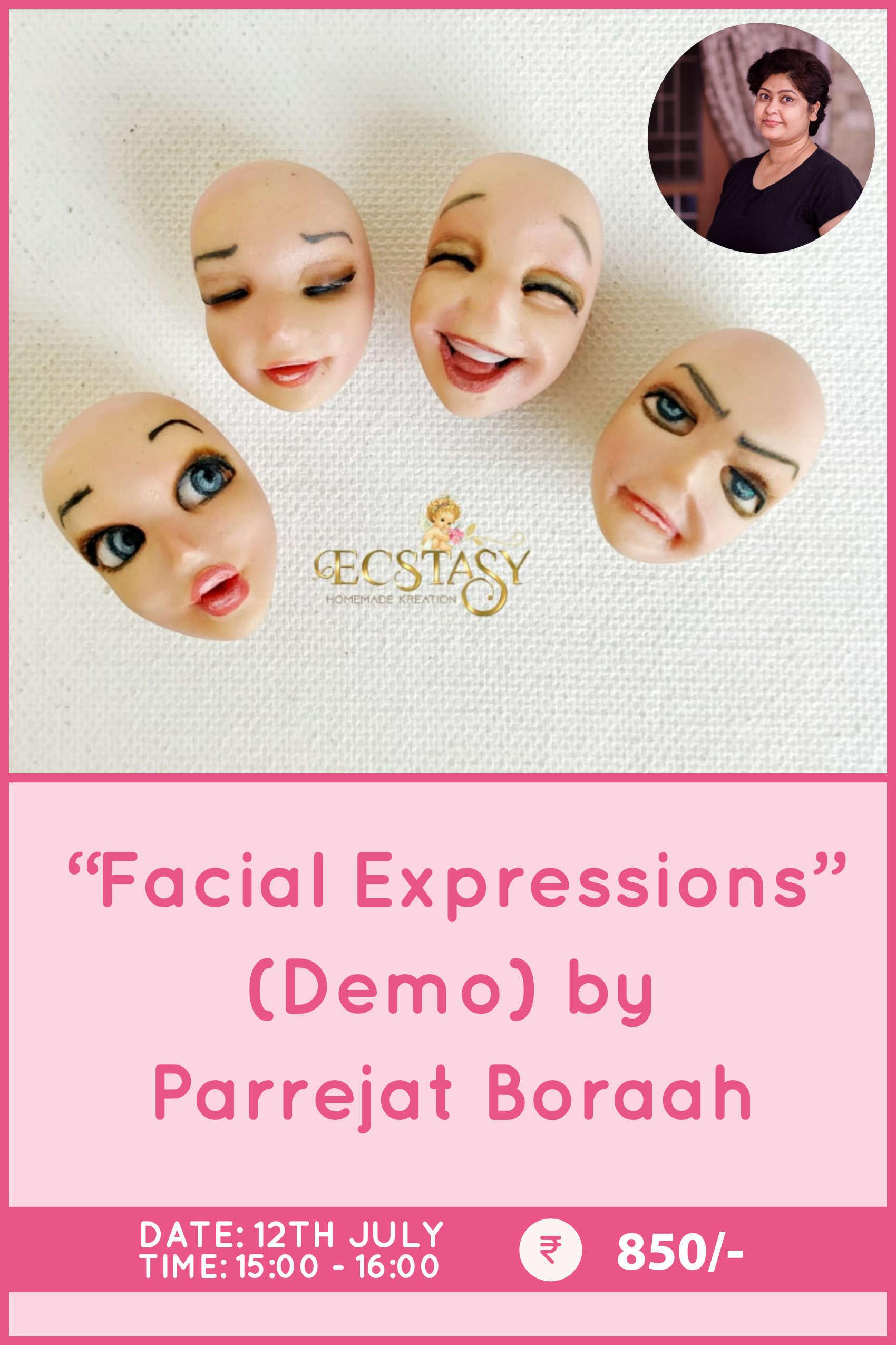 Facial Expressions by Parrejat Boraah