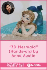 3D Mermaid By Anna Austin