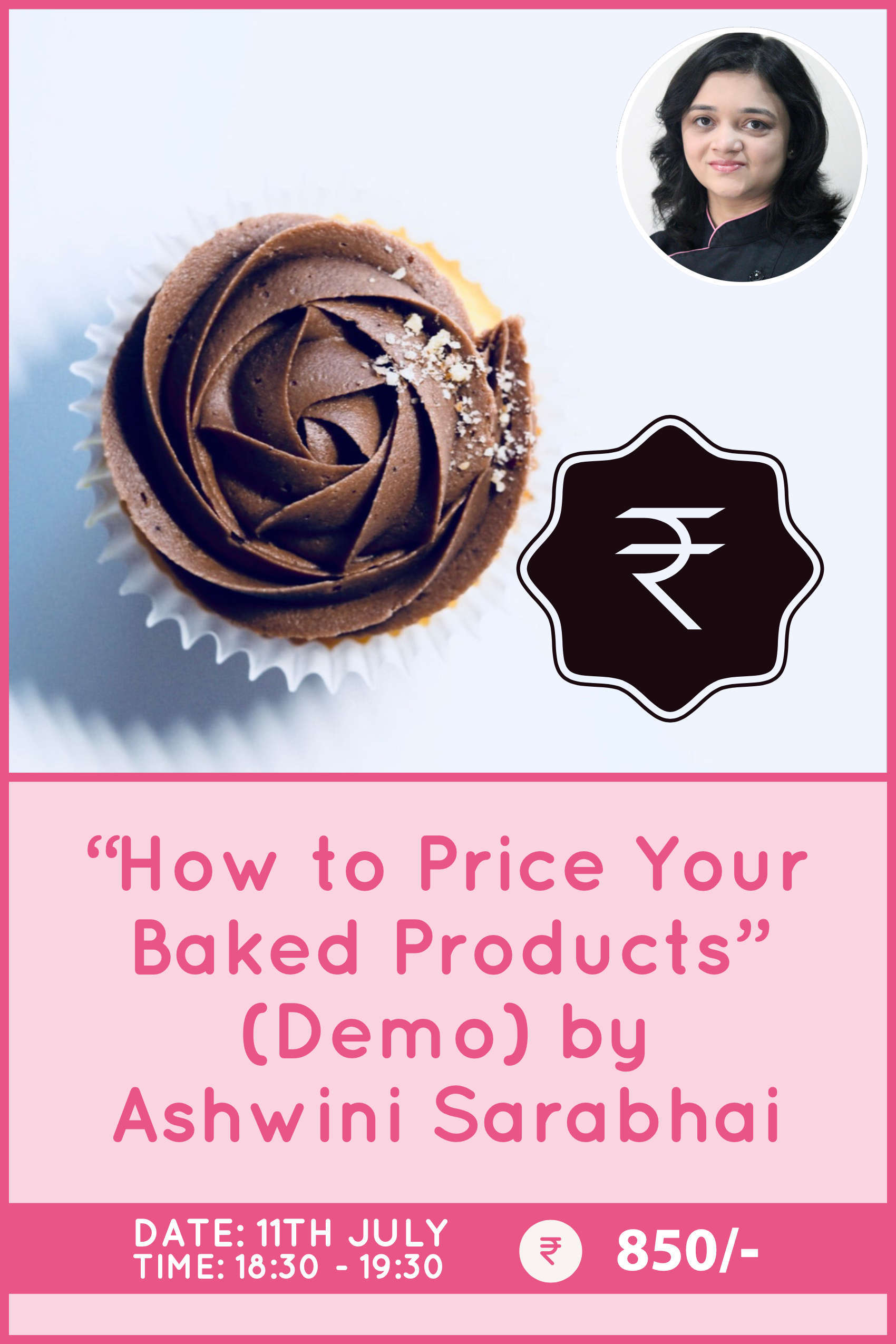 How to price your baked products by Ashwini Sarabhai