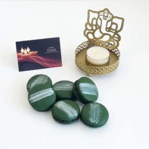 Diwali-gifts-Paan-flavoured-macarons