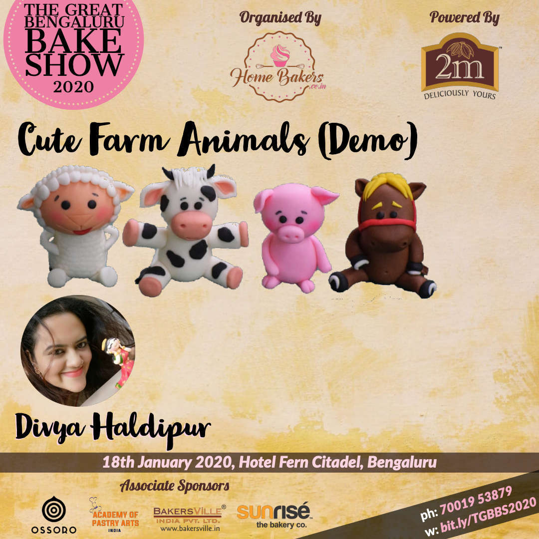 Modelling Cute Farm Animals by Divya Haldipur