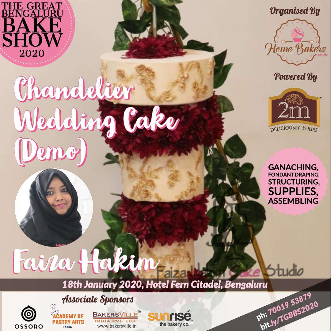 Designer Chandelier Cake by Faiza Hakim