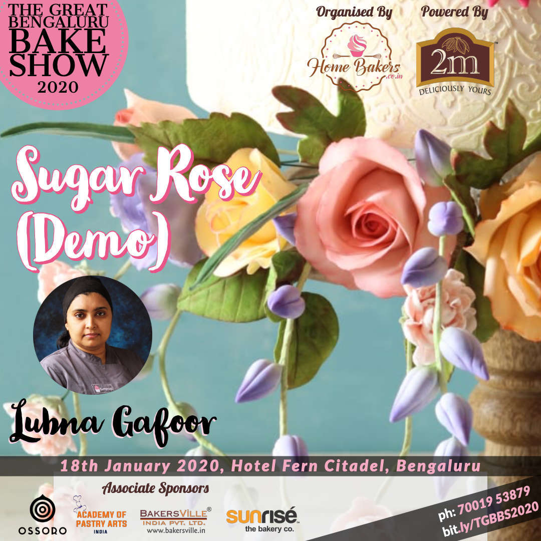 Sugar Roses by Lubna Gafoor