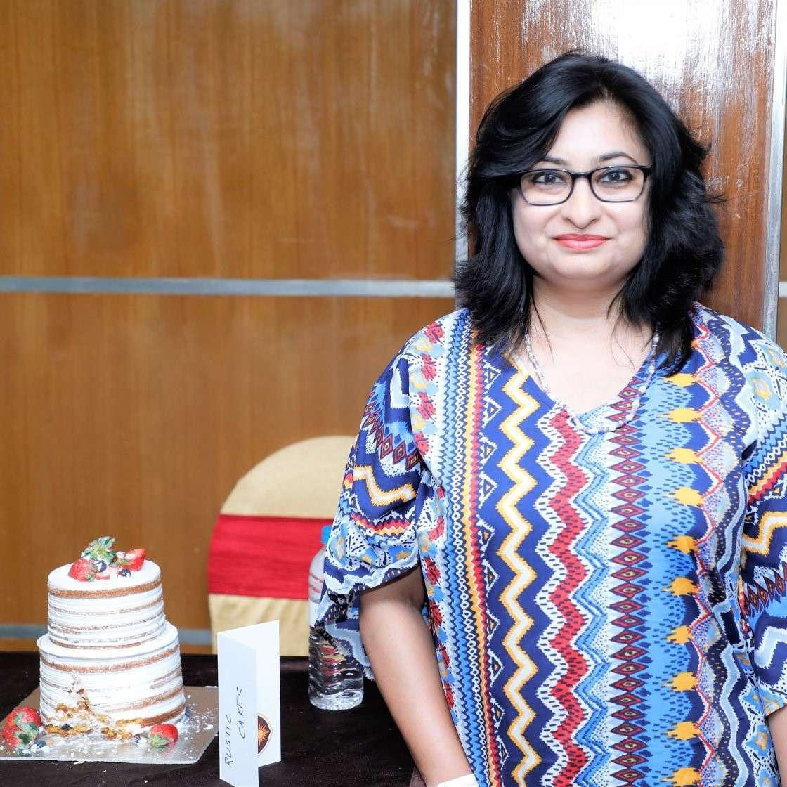 Rustic Cake Winner Basabi Sarkar