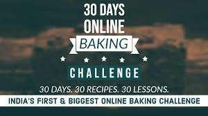 30 Days Baking Challenge
