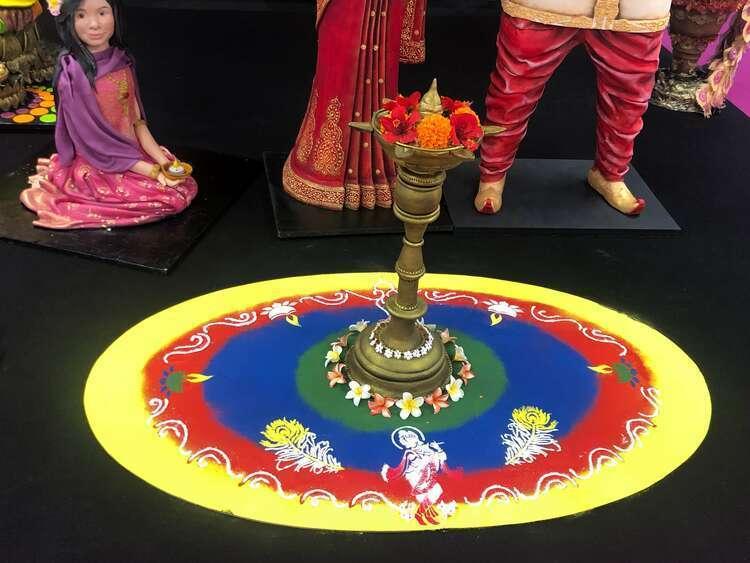 Ashwini-Sarabhai-Lamp