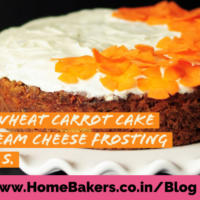 Whole-wheat Carrot Cake with Cream Cheese Frosting