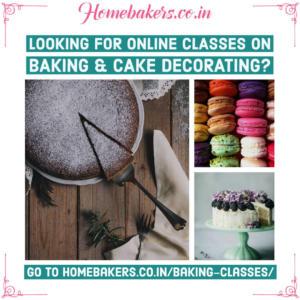 Online Classes on Baking & Cake Decoration