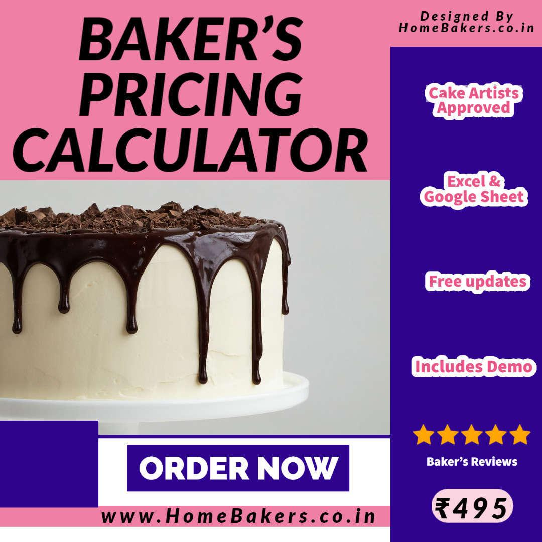 Baker's Pricing Calculator