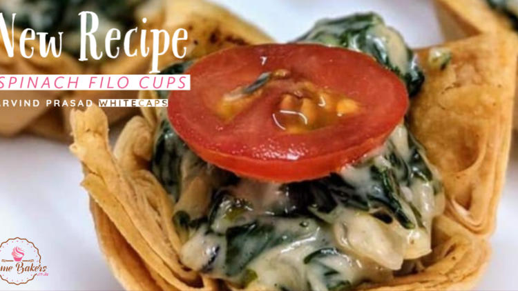 Spinach Filo Cups Recipe