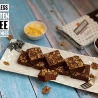 Eggless Gluten Free Chocolate Brownies