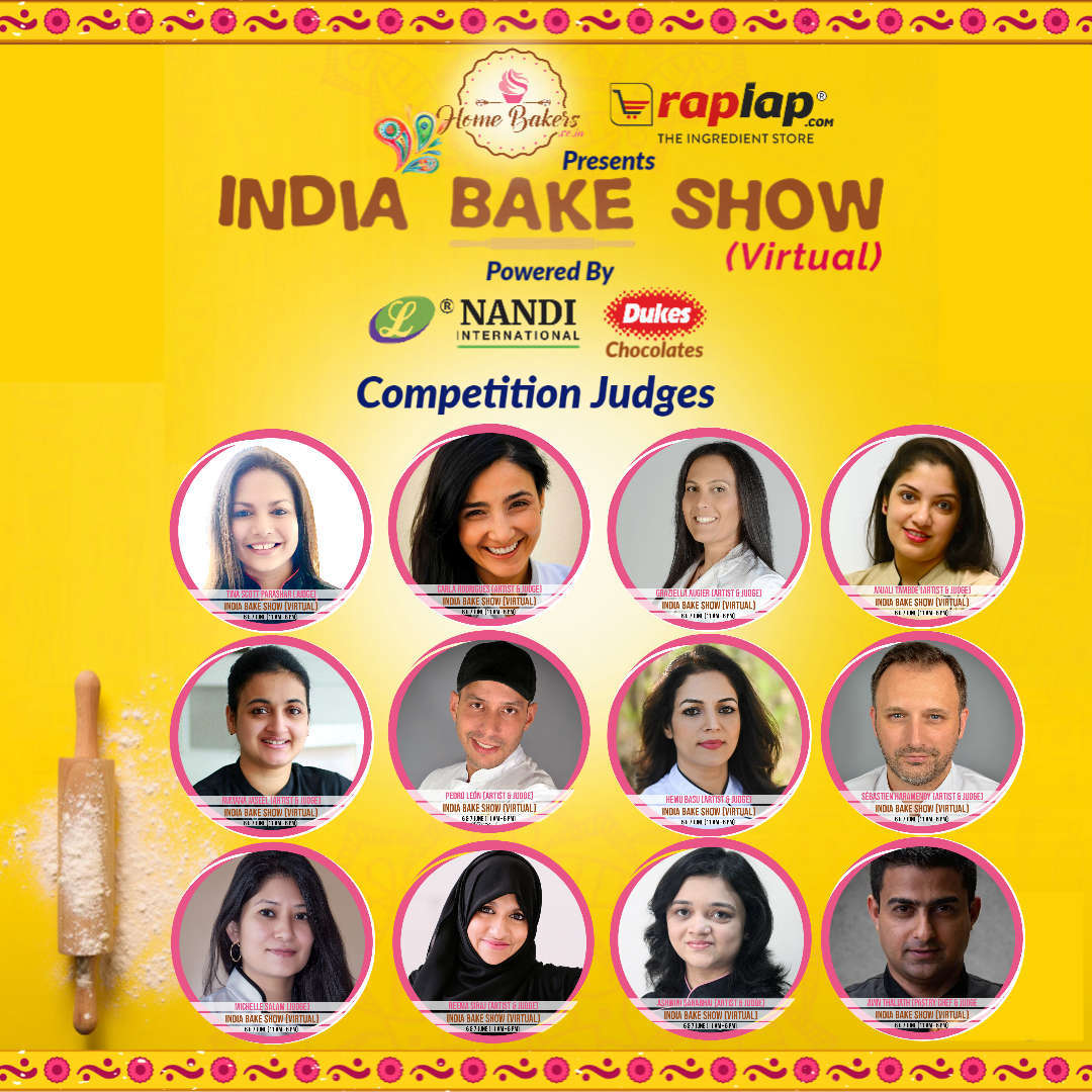 India Bake Show (Virtual) Competition Judges