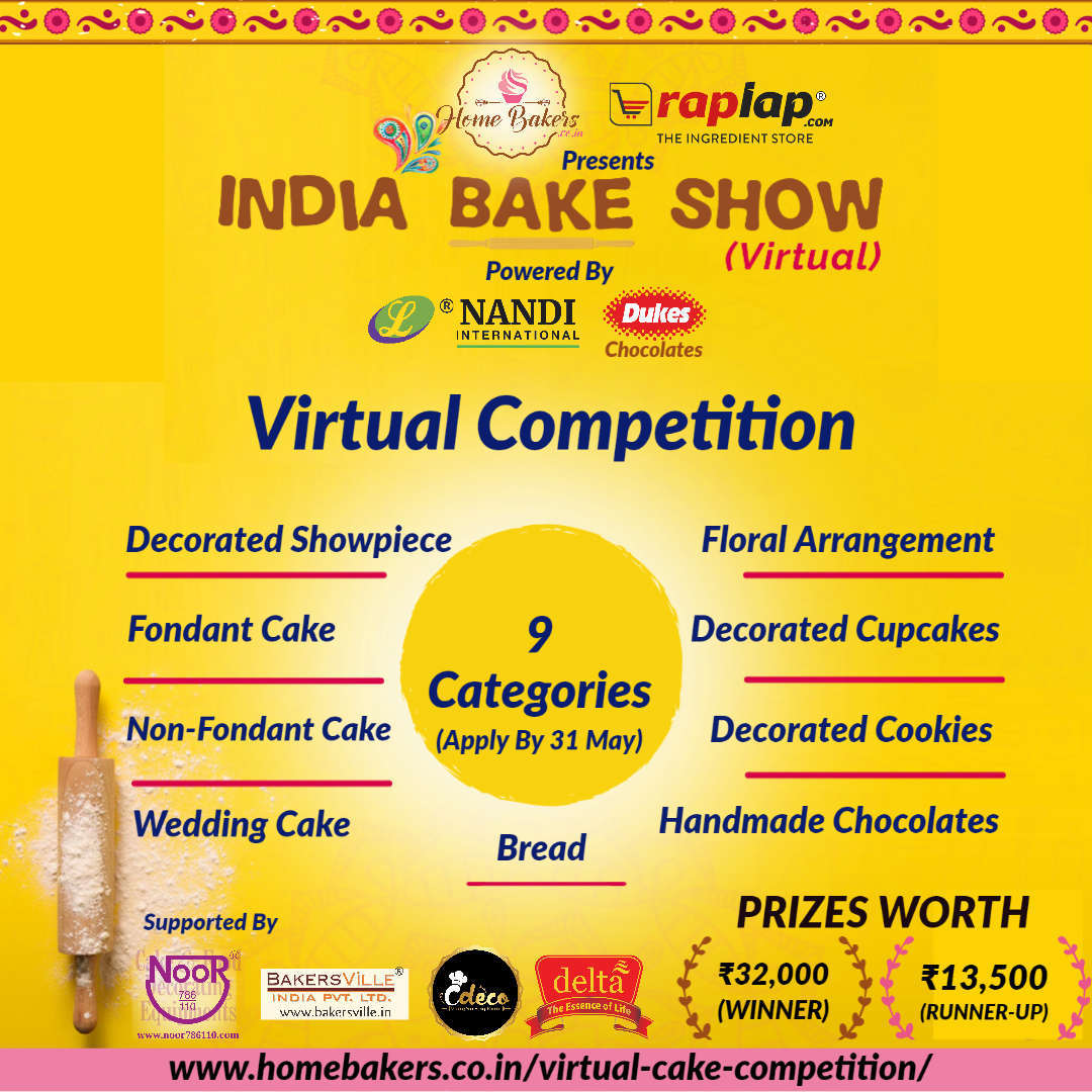 India Bake Show (Virtual) Competition