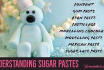 Versatile Sugar Pastes