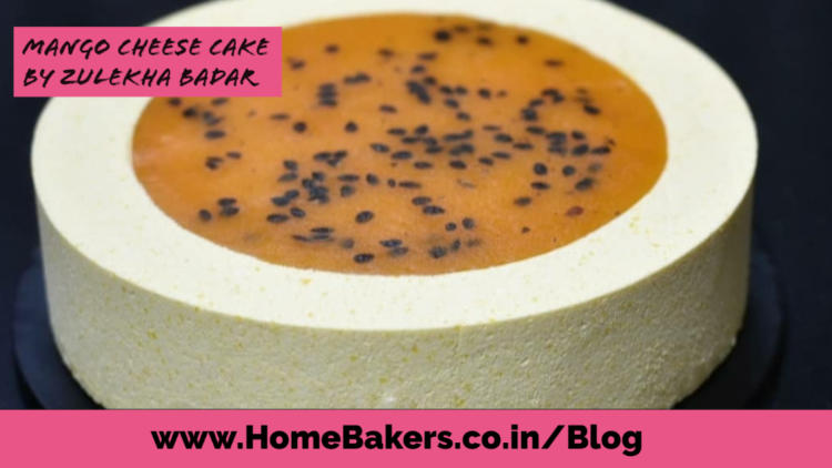 Mango Cheese Cake By Zulekha Badar