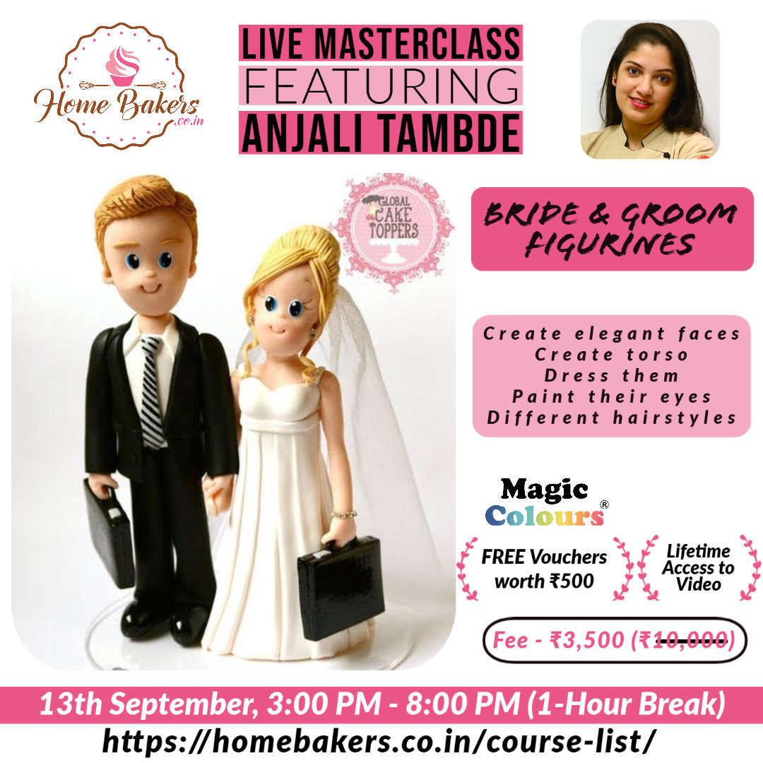 Bride and Groom Figurines