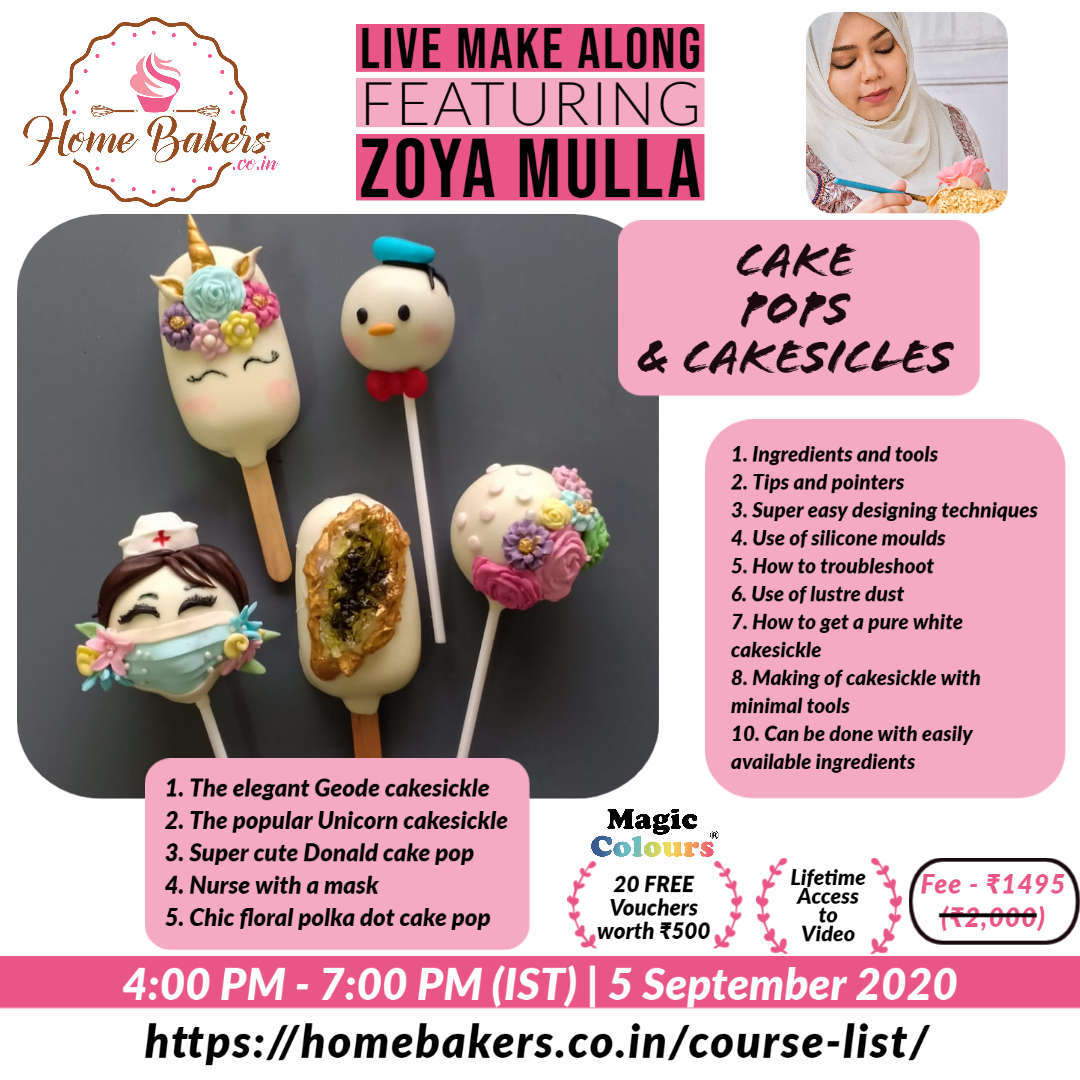 Cake Pops and Cakesicles
