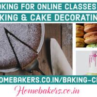 Baking & Cake Decorating Online Classes