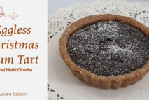 Christmas Plum Tart