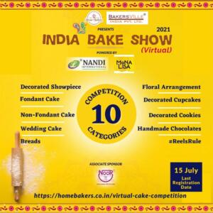 India Bake Show 2021 (Virtual) Competition